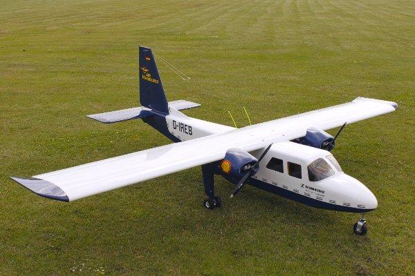 Islander BN-2 in 1:4 7